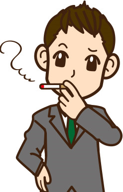 服についたタバコの臭いを消す方法